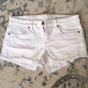 Blank NYC cutoff shorts